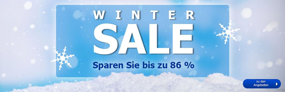 Winter-Sale - jetzt viele Artikel stark reduziert!